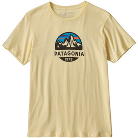Patagonia Fitz Roy Scope Organic - T-shirt manches courtes Homme - jaune
